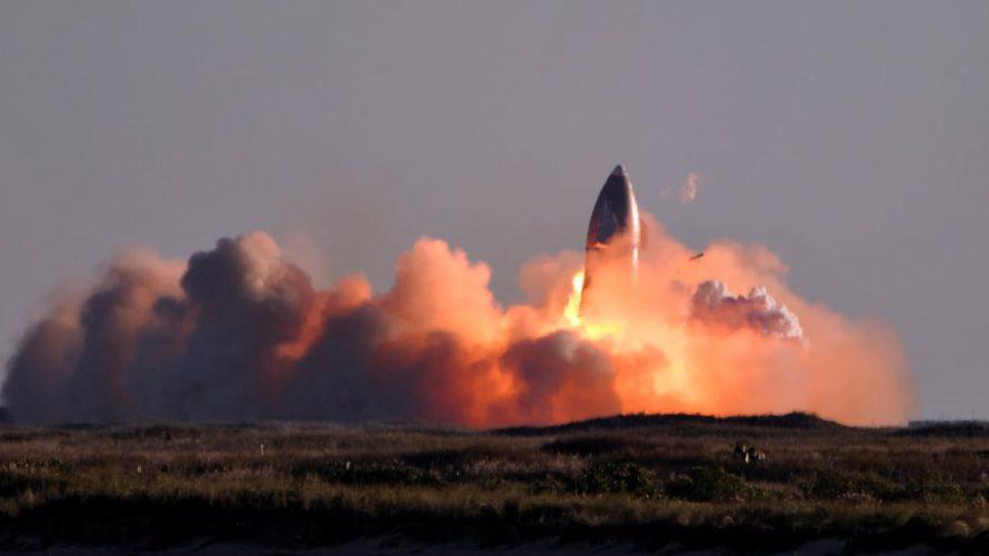 スペースXの巨大宇宙船試作機着陸に失敗