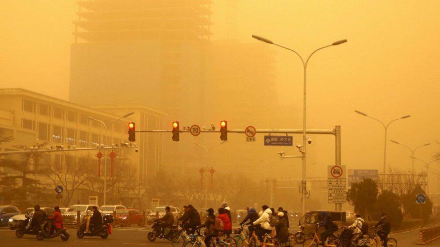 過去最大の黄砂が日本襲来?